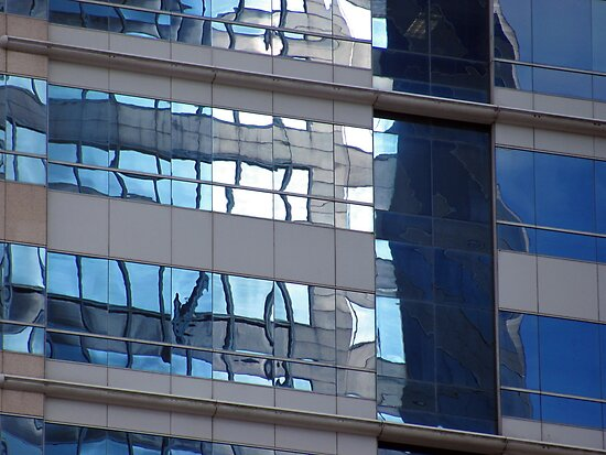 Sky in windows by Mike Shell