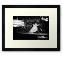 Ghost of a Bride Framed Print
