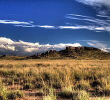 Big sky over the Painted Desert by DHParsons