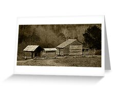 The Old Homestead II Greeting Card