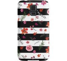 Watercolor Floral Pattern Samsung Galaxy Case/Skin