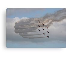 The Red Arrows 1 Canvas Print