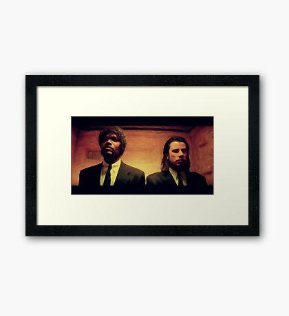 Vinny and Jules (Pulp Fiction) Framed Print