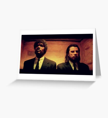 Vinny and Jules (Pulp Fiction) Greeting Card