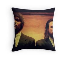 Vinny and Jules (Pulp Fiction) Throw Pillow