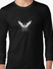 White wings with sparklies Long Sleeve T-Shirt