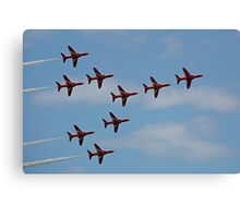 The Red Arrows 2 Canvas Print