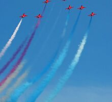 The Red Arrows 5 by Tony Steel