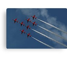 The Red Arrows 6 Canvas Print