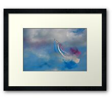 The Red Arrows 8 Framed Print