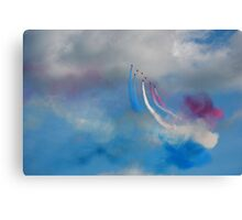The Red Arrows 8 Canvas Print