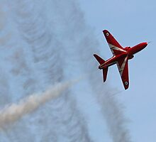 The Red Arrows 11 by Tony Steel