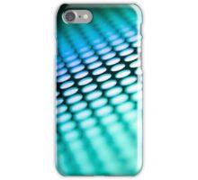 Metalic backlit shinny background iPhone Case/Skin