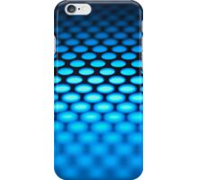 Metalic backlit shinny background iPhone Case/Skin