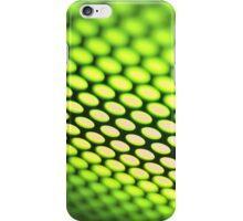 Metallic backlit shinny background iPhone Case/Skin