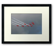 The Red Arrows 17 Framed Print