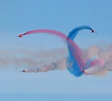 The Red Arrows 19 by Tony Steel