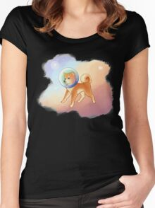 space puppy Women's Fitted Scoop T-Shirt