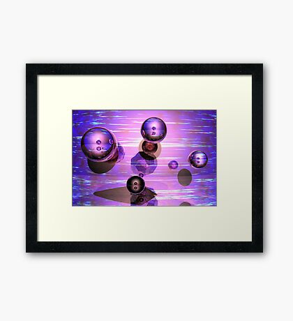 Quatuor Framed Print