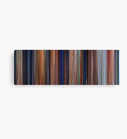 Moviebarcode: The Iron Giant (1999) Canvas Print