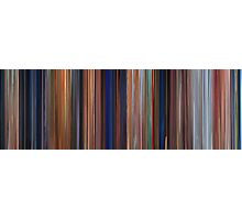 Moviebarcode: The Iron Giant (1999) Photographic Print