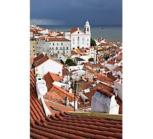 A postcard from Lisbon Photographic Print