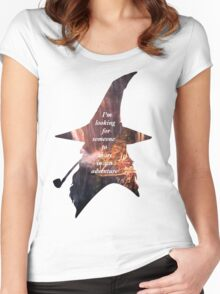 The Hobbit Women's Fitted Scoop T-Shirt