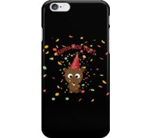 Happy New Year! Beaver iPhone Case/Skin