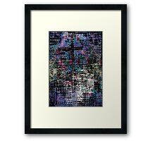 Design for a pylon Framed Print