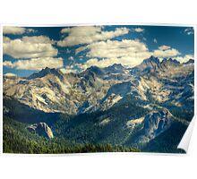 High Sierra Trail, Sequoia National Park, California Poster