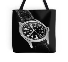 Military Time Tote Bag