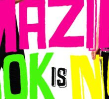 The amazing book is not on fire (Dan and Phil) All t-shirt colours!! :)) Sticker