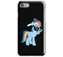 Rainbow Dash Style no text iPhone Case/Skin