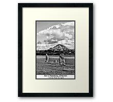 errigal Framed Print