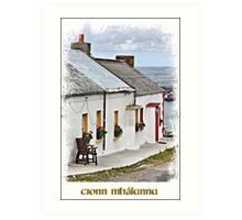 Malin Head Co Donegal Art Print
