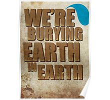 Earth In Earth Poster Poster