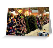 Christmas Walk 1 Greeting Card