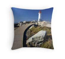Pathway to Peggy's Throw Pillow