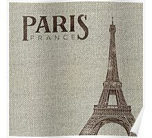 Destination: Paris Poster