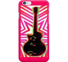 Neon Rock and Roll iPhone Case/Skin
