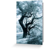 Whispy trees Greeting Card