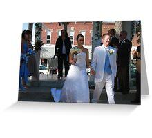Beautiful Bride Greeting Card