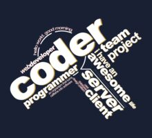 Programmer - Typography Coder One Piece - Short Sleeve