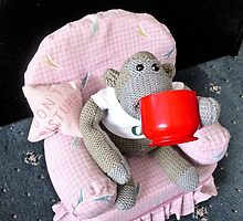 Monkey Has a Brew by missmoneypenny