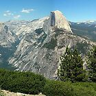 Yosemite View from Glacier Point by Ray Chiarello