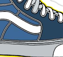 VANS SK8 H: NAVY BABY BLUE Sticker