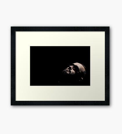In Search of Light Framed Print