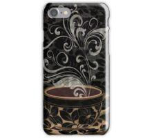 Cafe Noir I Coffee Damask iPhone Case/Skin