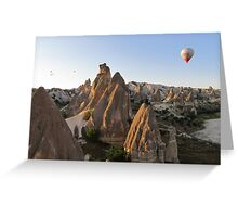 Ballooning in Cappadocia, Turkey Greeting Card