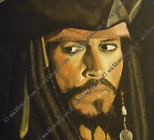 Johnny Depp Jack Sparrow by catherineeager